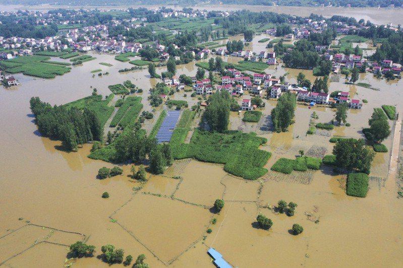 三峽大壩危機?中國「長江大暴雨」的汛災警戒 中國新聞社