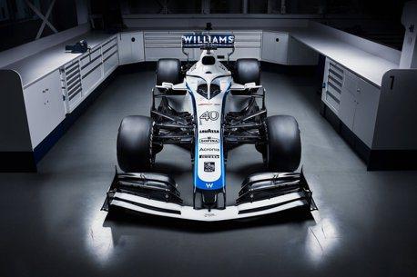 Williams F1車隊失去長期贊助商後 新車塗裝亮相!