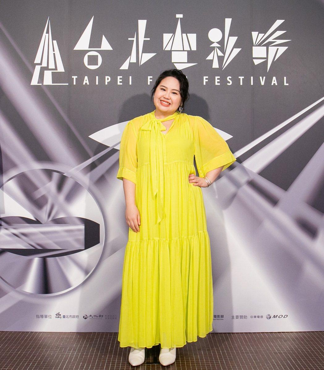 「破處」女主角郭文頤(大文)。圖/台北電影節提供