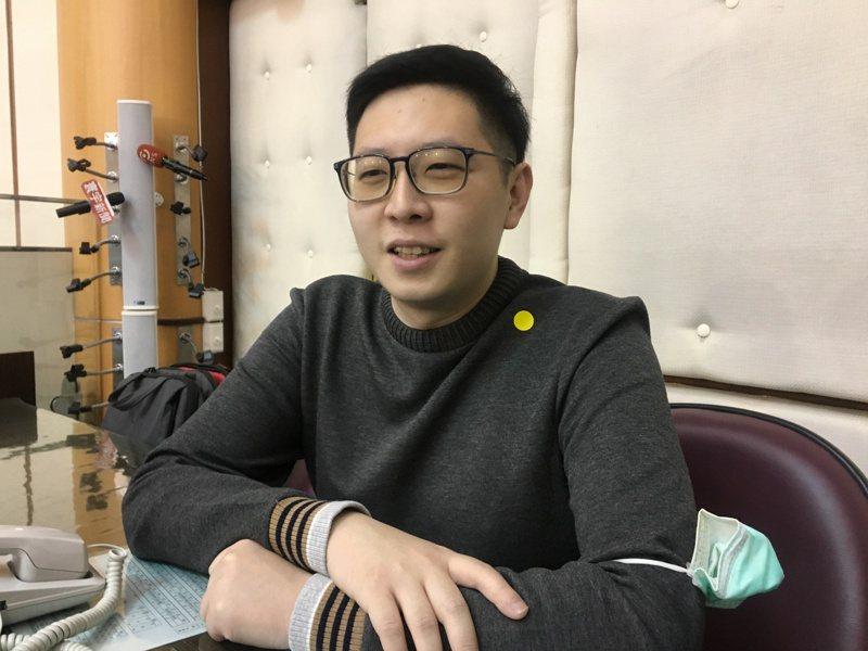 民進黨籍桃園市議員王浩宇。圖/本報資料照片