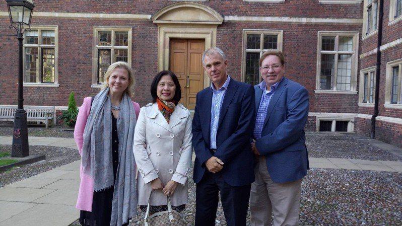 教育部宣布,今年將與英國劍橋大學再次簽約,於2020年至2023年間攜手推動「台灣研究講座」第5期計畫,並規畫合開台灣研究相關碩士課程。圖/教育部提供