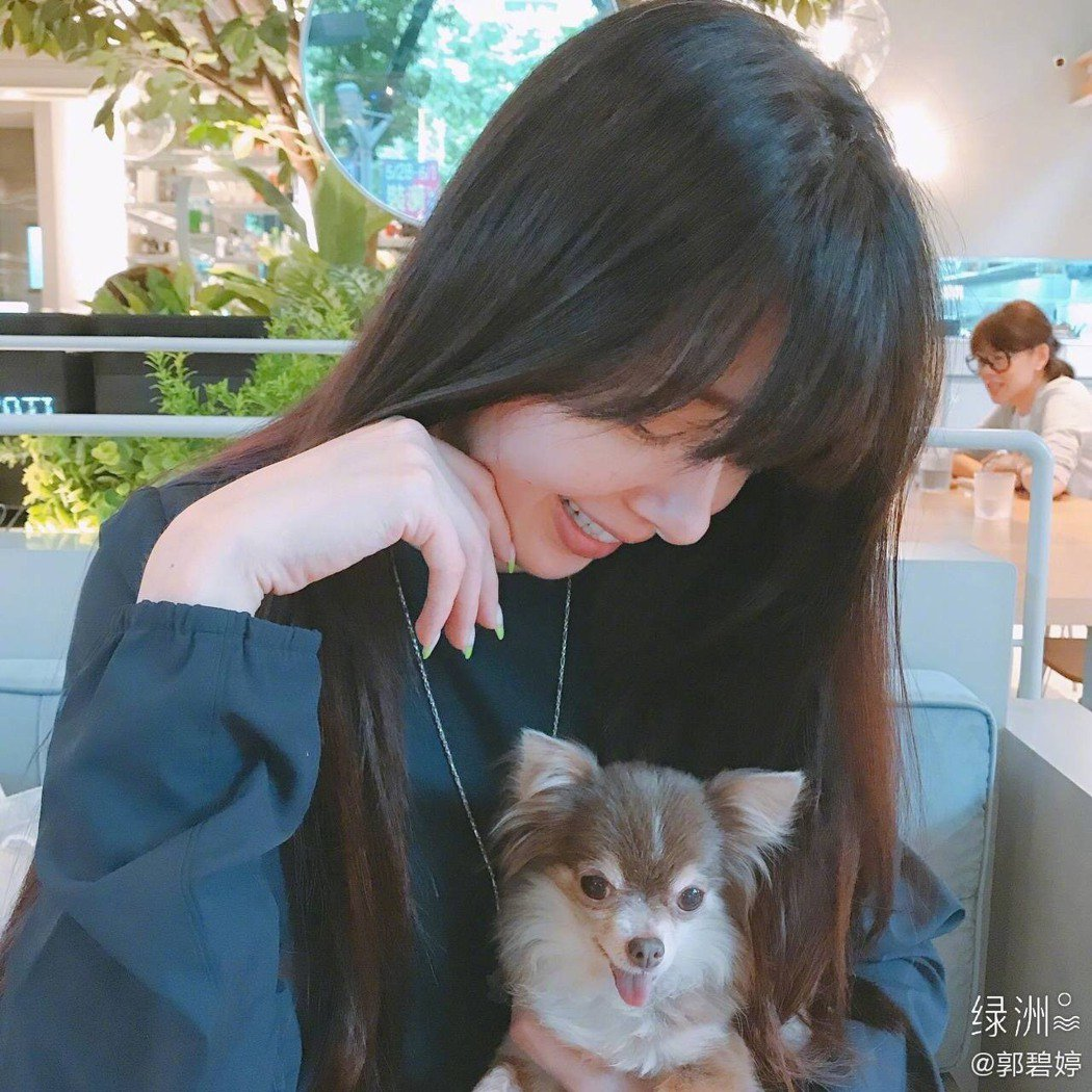郭碧婷被傳懷孕後,更新微博。圖/摘自微博