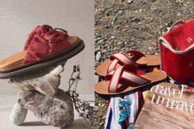 夏天穿拖鞋最方便!亞麻、編織帆布設計甜美又百搭