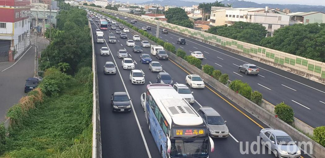 國道近來車禍頻傳,以國1交通事故最多。圖/聯合報系資料照片