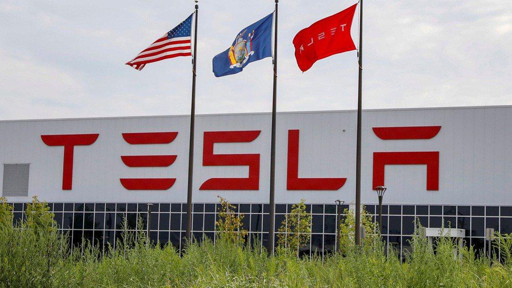 美國電動車大廠特斯拉(Tesla)。 路透