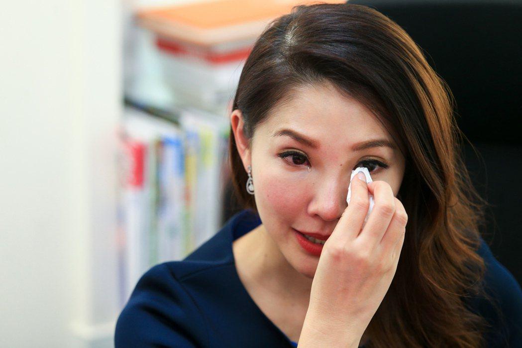 林書煒過去提起媽媽病況總忍不住難過掉淚。圖/本報資料照