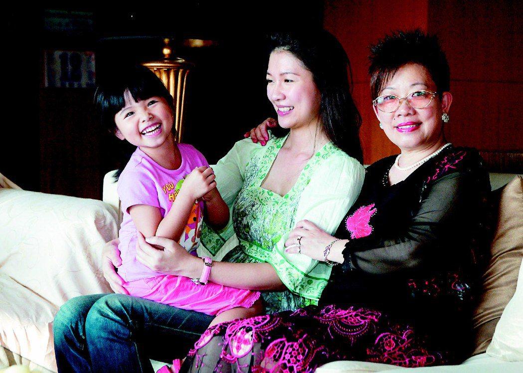 林書煒母親是她成長中的支柱。圖/本報資料照