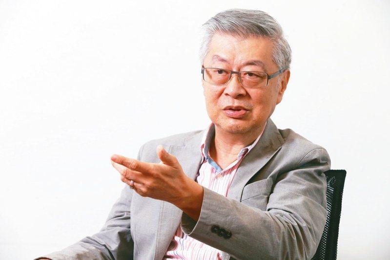 行政院前院長陳冲     記者徐兆玄/攝影