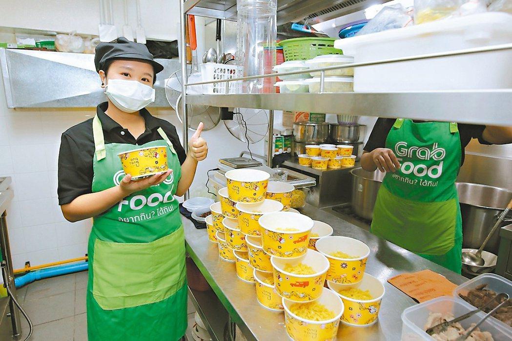 餐飲外送需求使雲端廚房產業在東南亞日益欣欣向榮。 (網路照片)