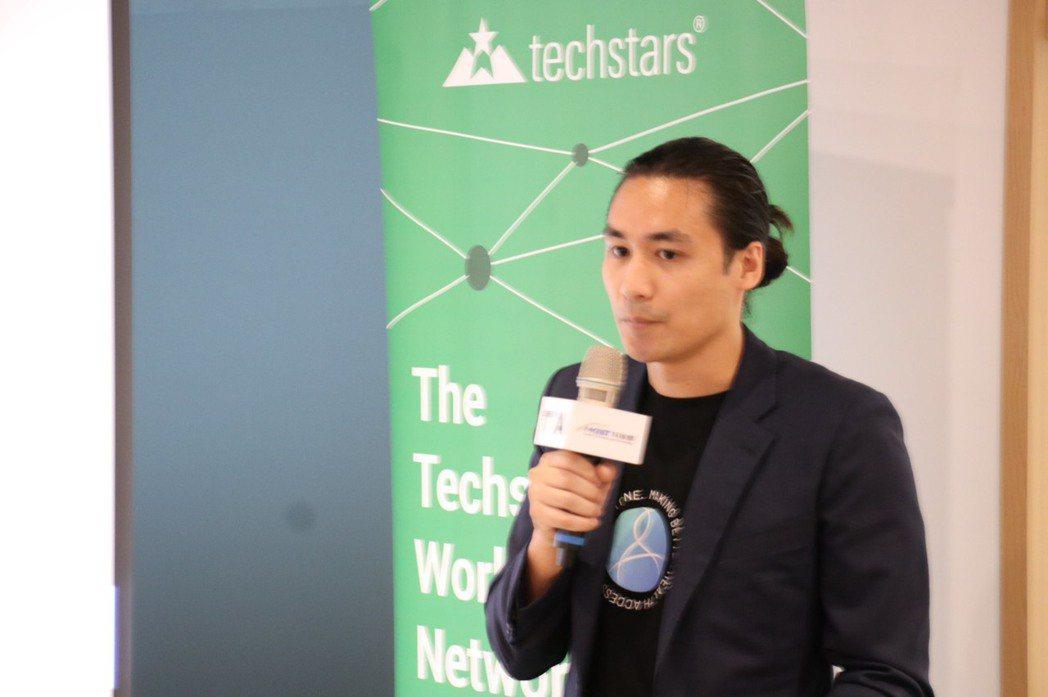 Kiipo創辦人之一彭擎(Chris Peng)表示台灣新創團隊Kiipo開發出...