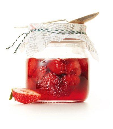 糖煮草莓。 圖/台灣廣廈提供