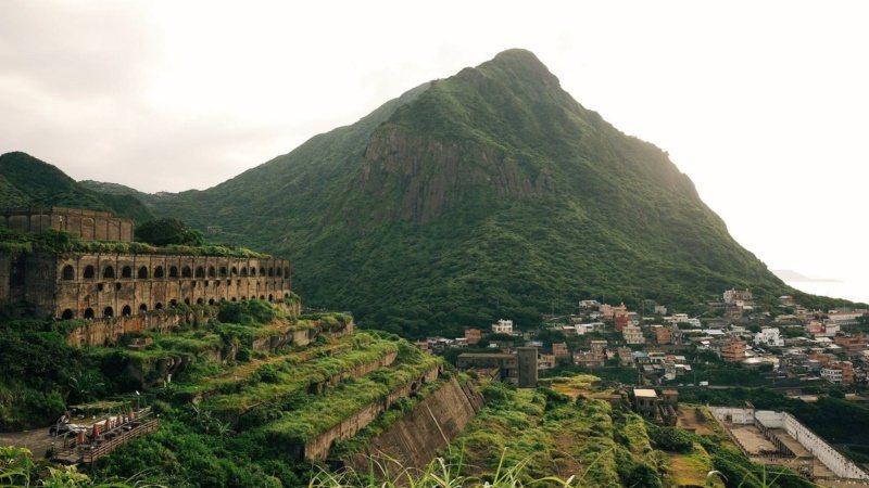 十三層遺跡被暱稱為「台版天空之城」。 圖/黃仕揚 攝影