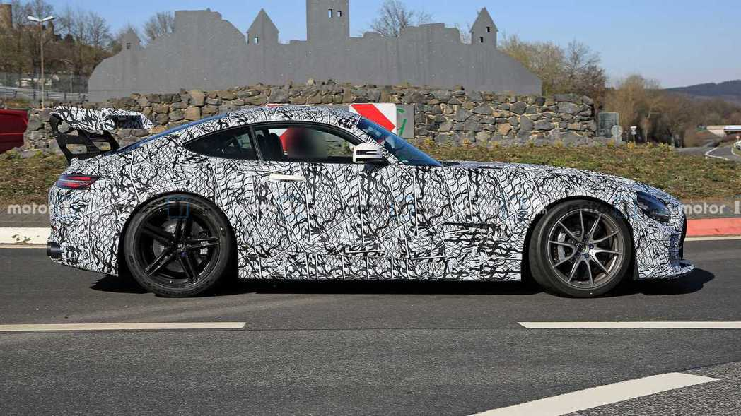 Mercedes-AMG GT Black Series將於7月發表。 摘自Mo...