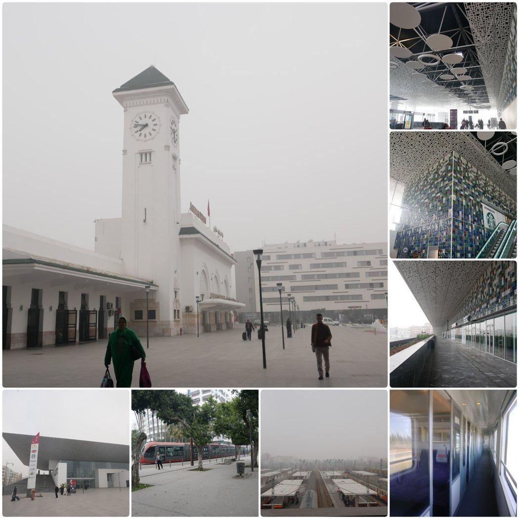 1923年建立的卡薩布蘭卡火車站,於2018年完成了擴建工程,變成了新舊並存特色的火車站。