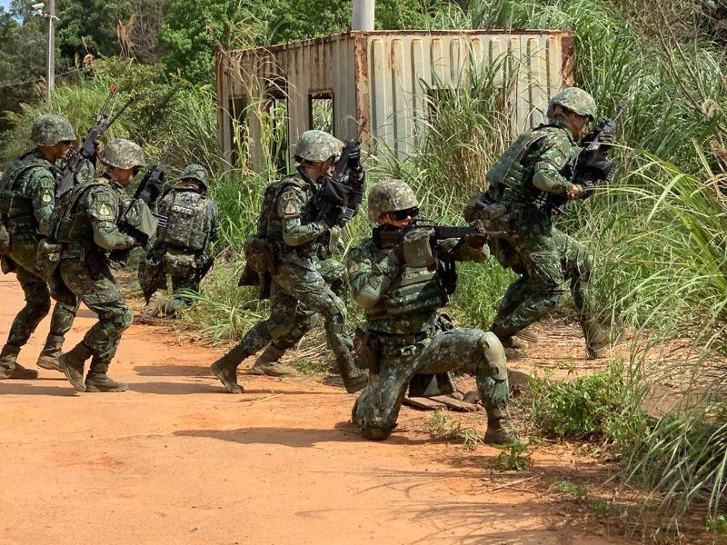 在建構「不對稱戰力」目標下,美軍希望我國成立「聯合特戰指揮部」的呼籲一直不曾間斷。記者洪哲政/攝影
