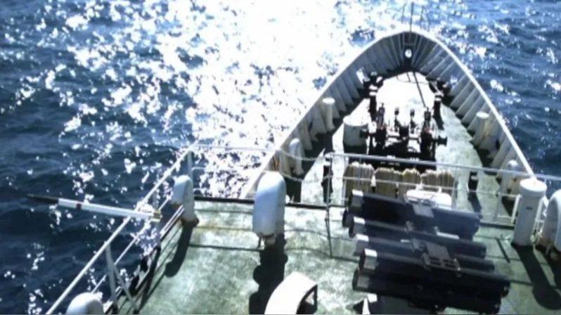 海巡鎮海火箭彈系統。圖/中科院