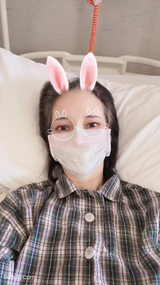 鄭艷麗近日患厭食症。圖/摘自臉書