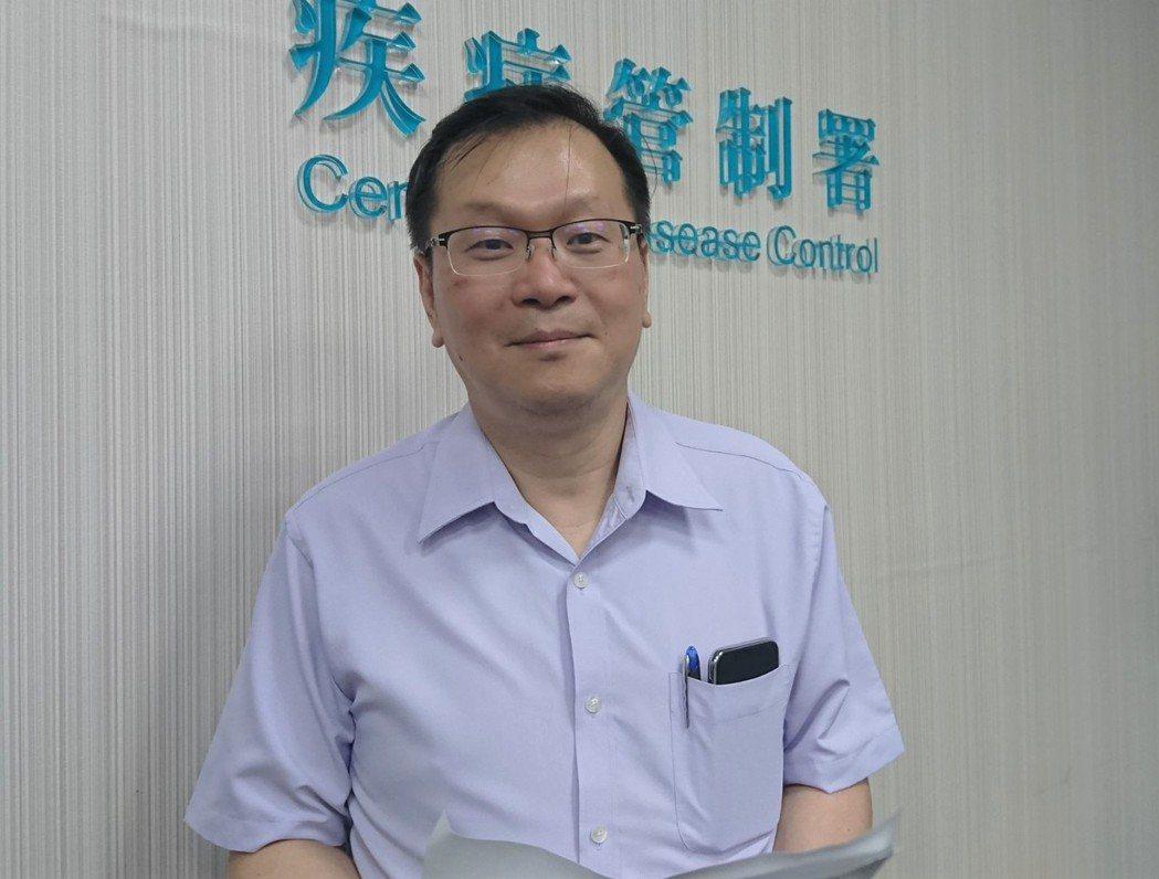 疾管署副署長莊人祥。記者羅真/攝影
