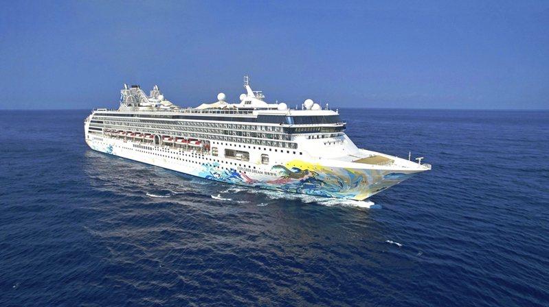 雄獅集團與星夢郵輪合作國內跳島旅遊,「探索夢號」將成為第一艘全球復航的國際郵輪。 圖/雄獅集團提供