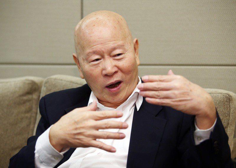 民進黨前主席、現任亞太和平研究基金會董事長許信良。聯合報資料照片