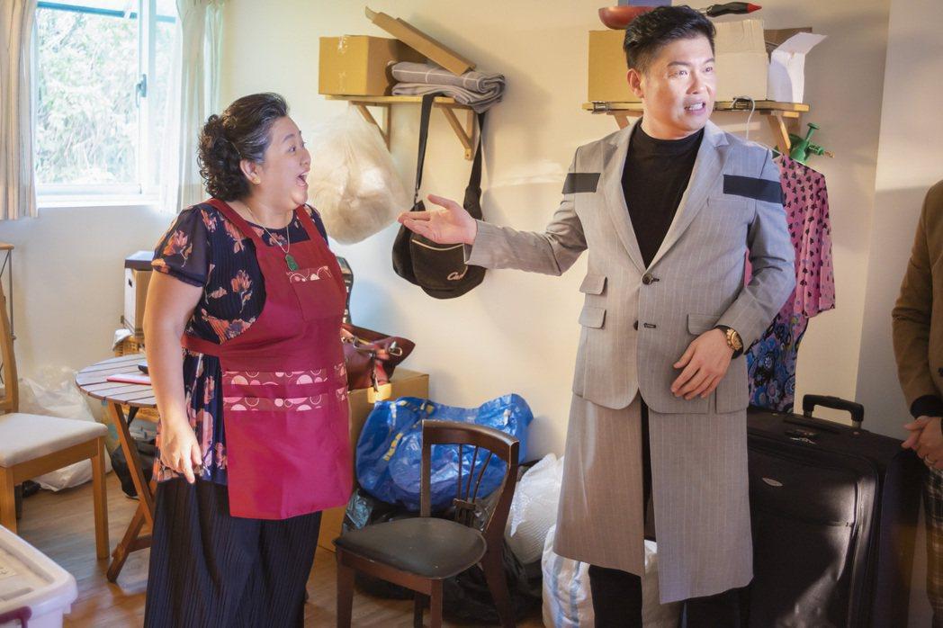 曾國城(右)客串演出「我的婆婆怎麼那麼可愛」。圖/公視提供