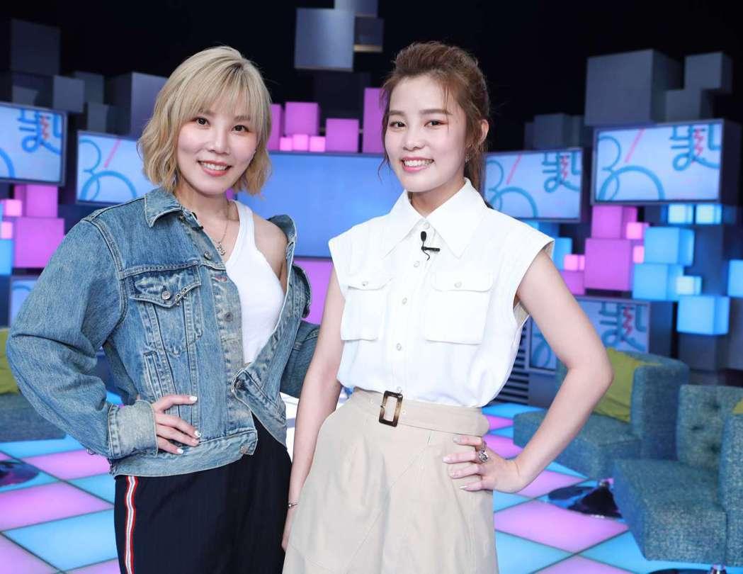 李佳薇(左)和李佳歡姊妹齊闖星河。圖/公視提供