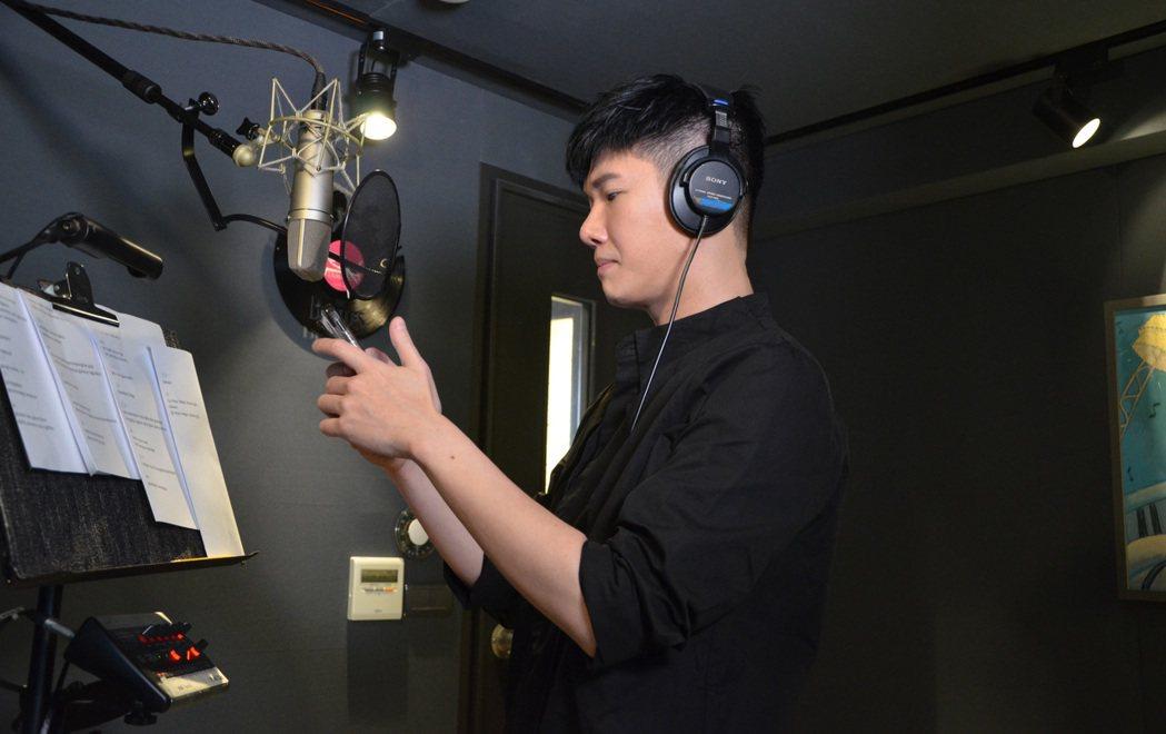 張與辰平時會透過翻唱歌曲與歌迷們互動。圖/種子音樂提供
