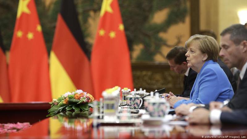 德國總理梅克爾。圖/德國之聲中文網