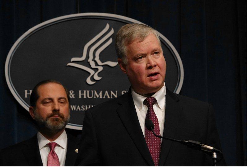 美國國務院副國務卿畢根(Stephen Biegun)。聯合報系華盛頓記者張文馨/攝影