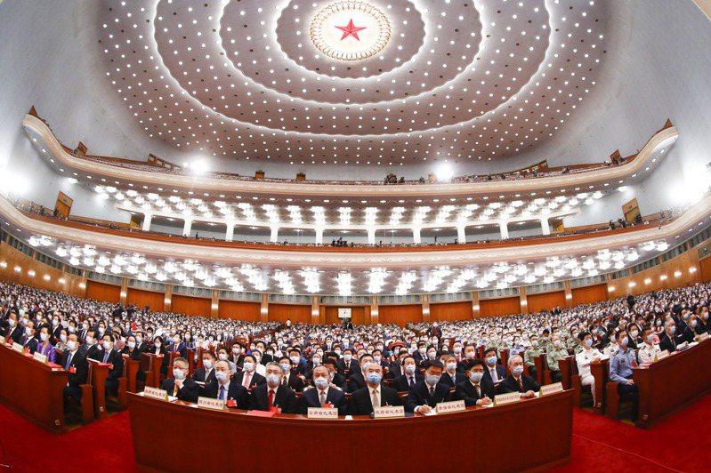 圖為北京人民大會堂。中新社