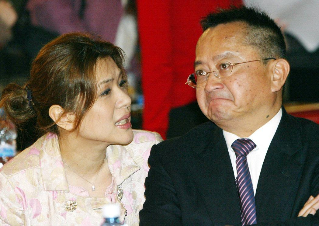 張清芳(左)婚後十分配合老公宋學仁,離婚消息傳出後令不少人震驚。 圖/聯合報系資