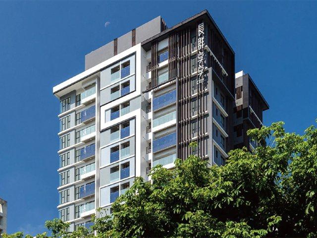 長群建築以集團旗下晟田建設在新北市土城推出「長群享享CITY」。 業者/提供