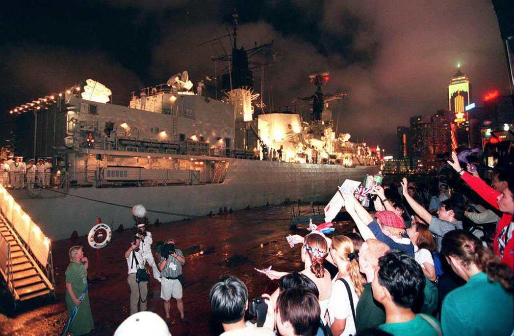 1997年7月1日,不列顛尼亞號(Her Majesty's Yacht Bri...