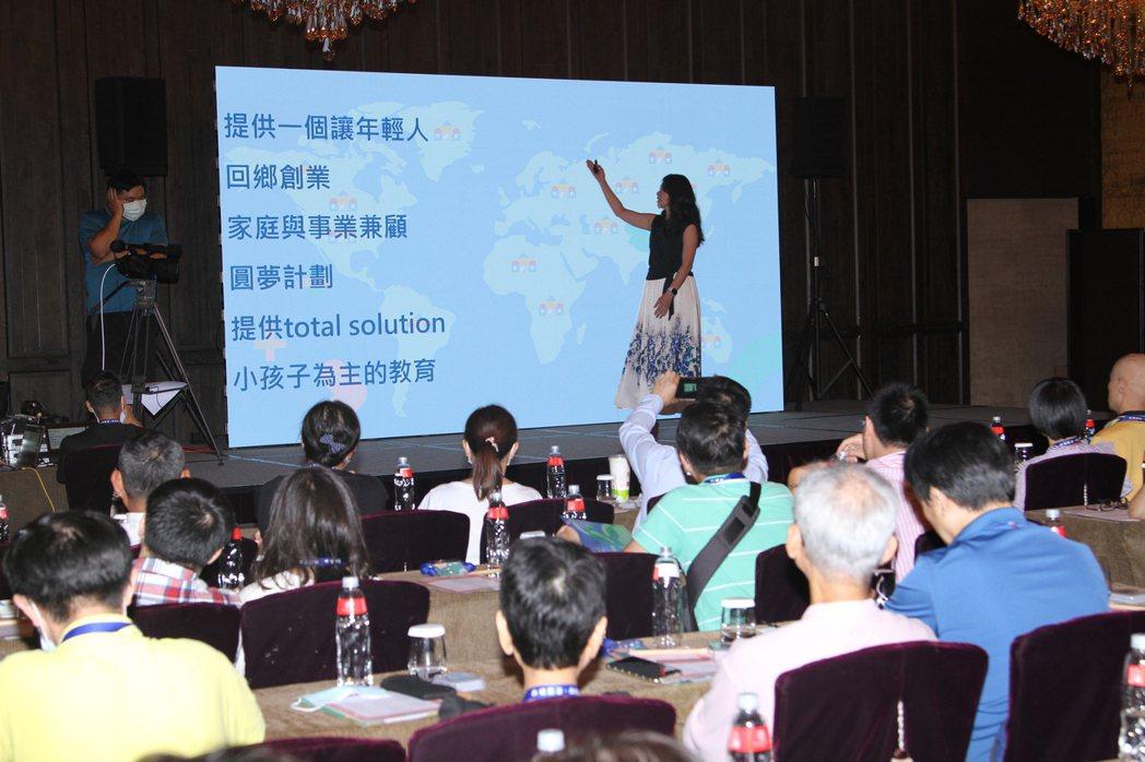 思達創旭執行長謝京叡表示將積極開拓新據點,立足中華、展望全球。 蔡尚勳/攝影