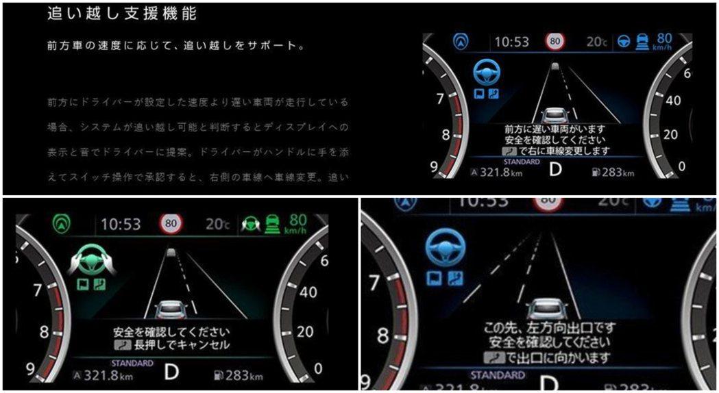 ProPilot 2.0半自動駕駛輔助技術,可以實現放雙手駕駛、變換車道、超車和...