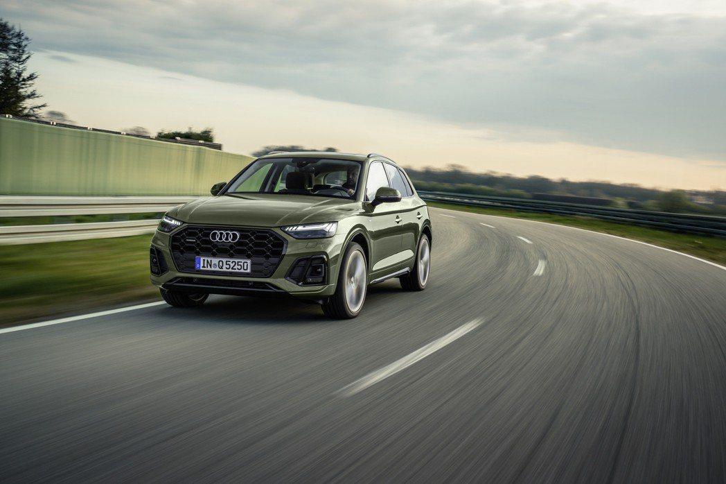 小改款Audi Q5正式登場。 摘自Audi