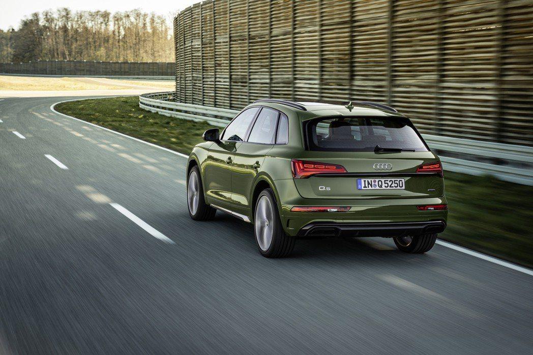 小改款Audi Q5目前僅公布了結合48V輕油電動力系統的40 TDI動力車型 ...