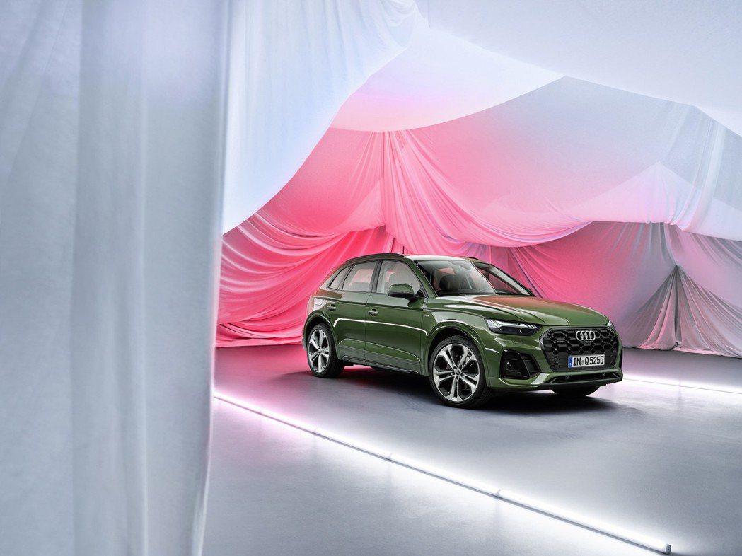 小改款Audi Q5。 摘自Audi
