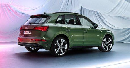 換上OLED尾燈、導入48V輕油電 小改款Audi Q5正式亮相!