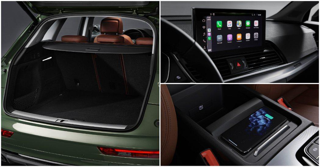 小改款Audi Q5提供Apple CarPlay、Android Auto無線...