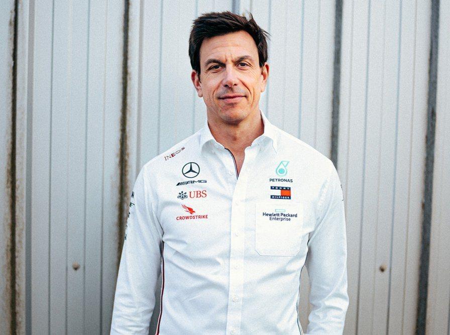 Mercedes-AMG F1車隊執行長Toto Wolff。 摘自Merced...