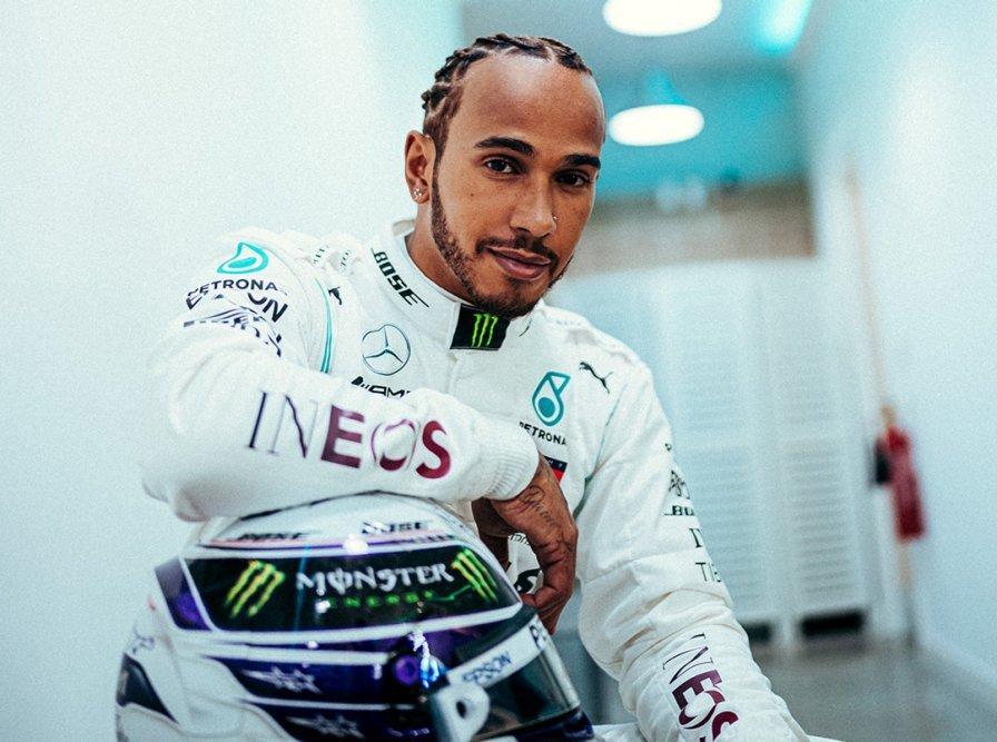 Lewis Hamilton。 摘自Mercedes-AMG F1