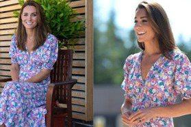 不只是親民!凱特王妃的超仙碎花洋裝來自環保小眾品牌 慵懶優雅極具夏日氣息