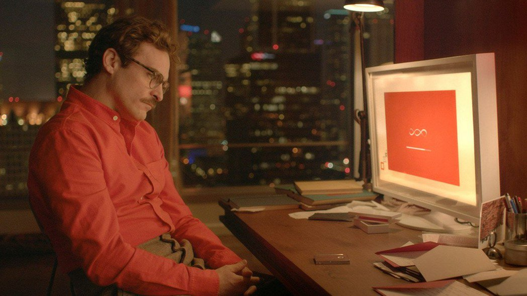 電影呈現人類與人工智慧的真摯交心。 圖/摘自網路