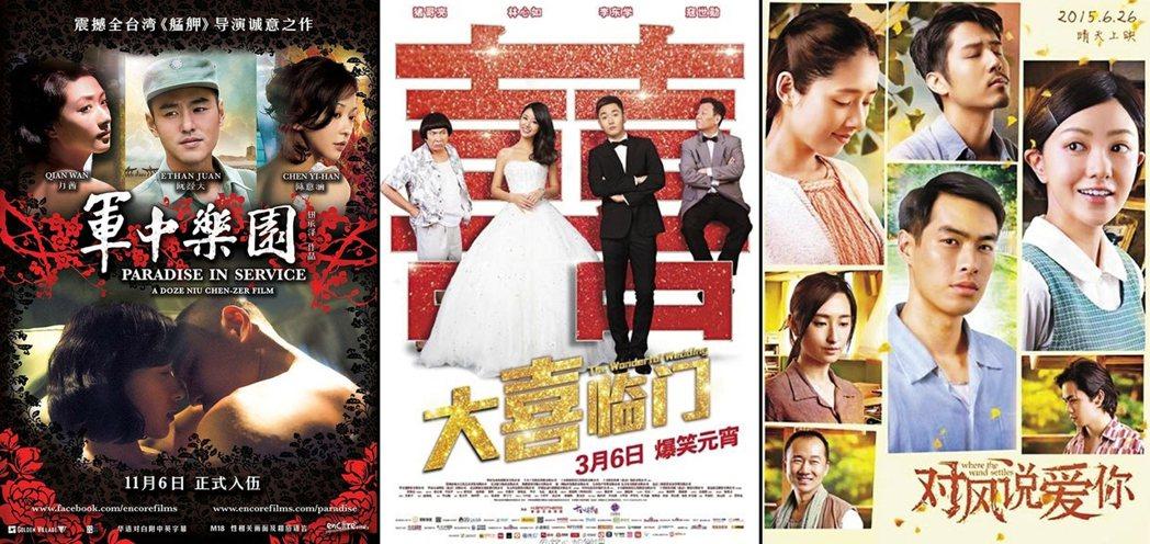 圖右的《風中家族》(中國版片名為「對風說愛你」)雖然精采,但因合拍片而來的團圓,...