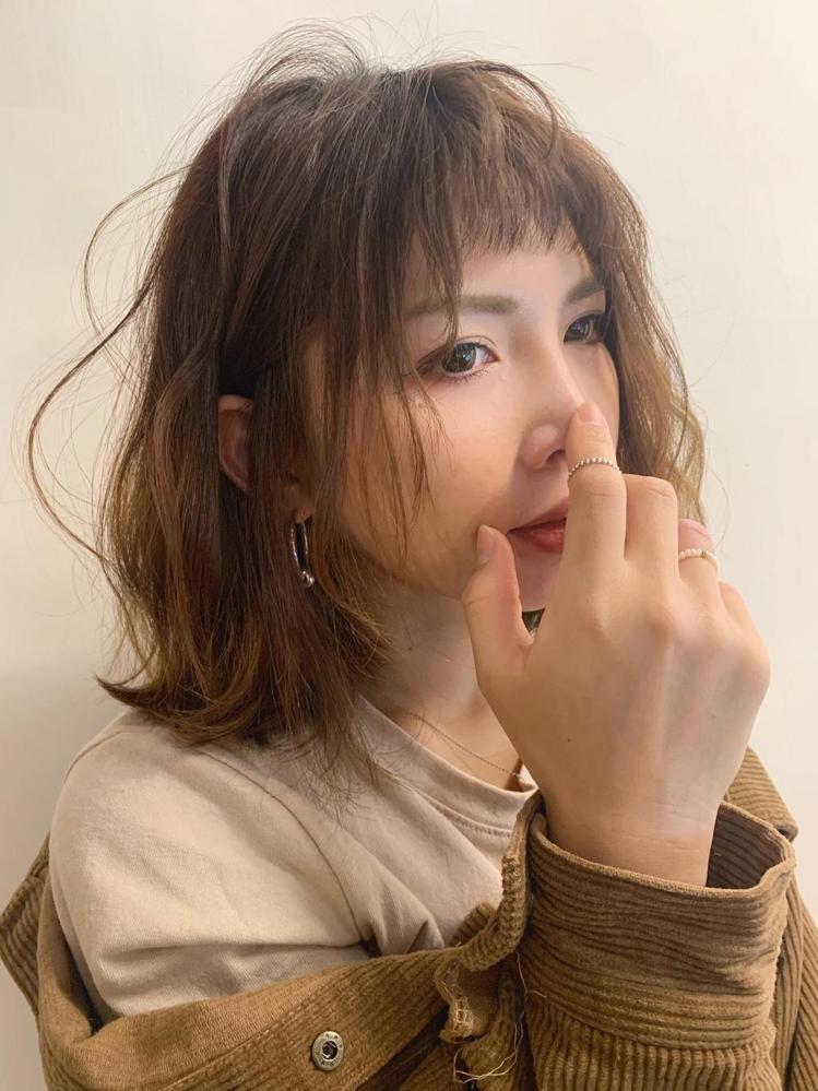 髮型創作/日青髮廊 / Lori,圖/StyleMap美配提供