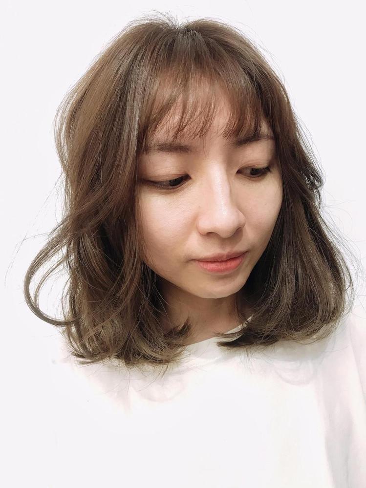 髮型創作/默·MO HAIR / 瑤瑤,圖/StyleMap美配提供