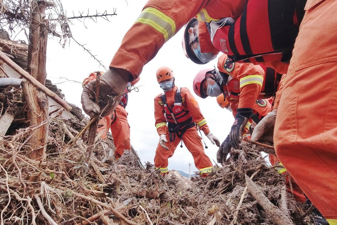 暴雨成災 大陸兩部門向3省預撥6億元救災資金