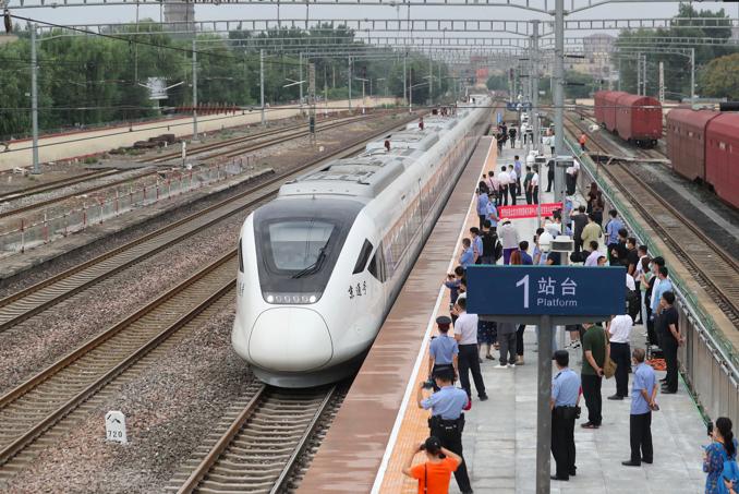 北京市郊鐵路都市副中心線西延、通密線今起營運