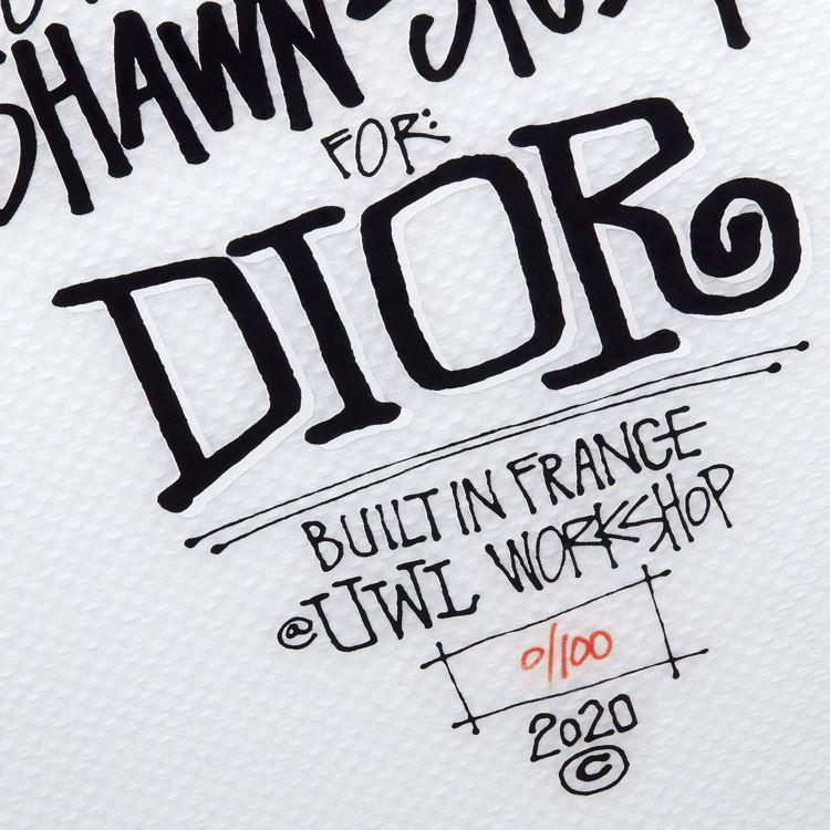 DIOR x Shawn Stussy衝浪板在法國西部拉羅謝爾的UWL工坊製作,...